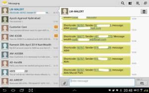 4-Screenshot of LEADS generated